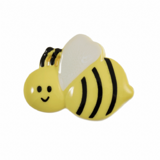 0 A2774 BEE BUTTONS 22MM
